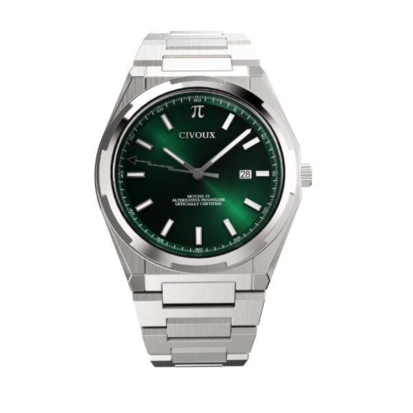 Skycha VI groen voor aanzicht